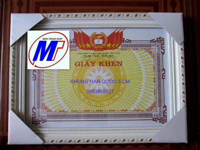 Xưởng chuyên sản xuất khung giấy khen5