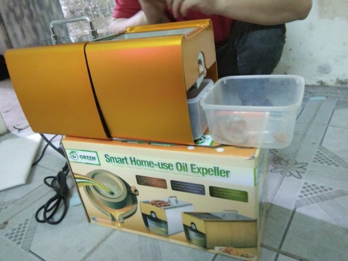 Máy ép dầu thực vật, máy ép dầu ăn giá rẻ