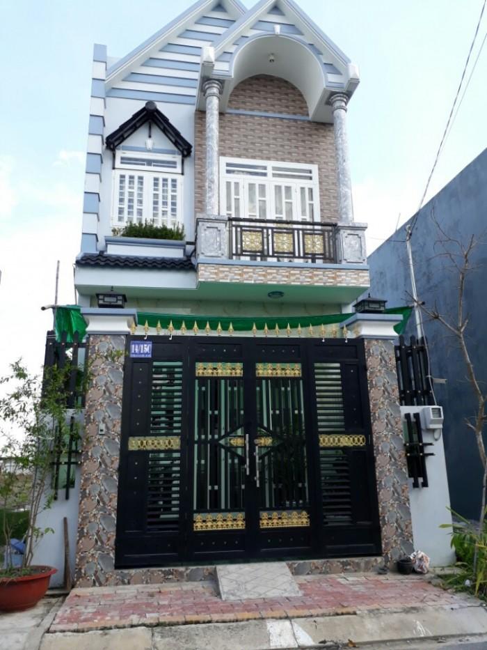 Nhà mới xây,68m2,1 sẹc đường Thới Hòa,Vĩnh Lộc A