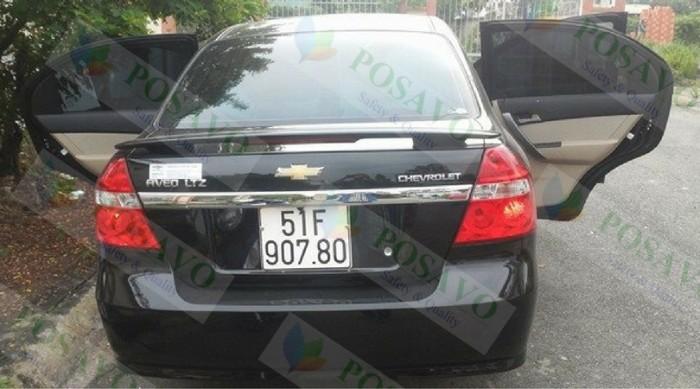 Posavo tiếp tục lắp đặt nệm hơi ô tô cho xe chvrolet aveo của anh bảo ở quận 8, tp.hcm