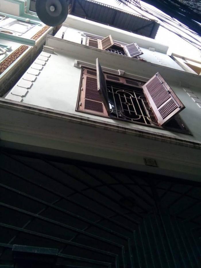 Bán nhà Láng Hạ 60m2 x 4 tầng, MT: 4.85m, sổ nở hậu, giá 3.5 tỷ.