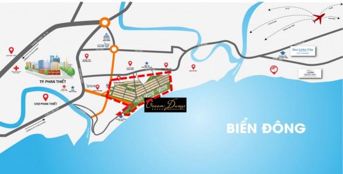 Cần sang Lại 2 lô góc nhà phố khu E dự án Ocean Dunes Phan Thiết