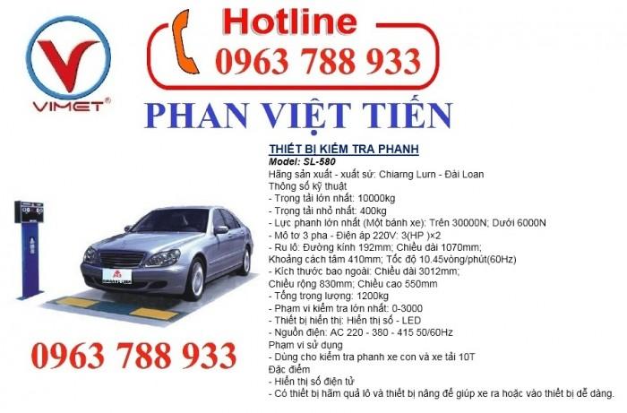 Thiết bị kiểm tra PHANH SL-580