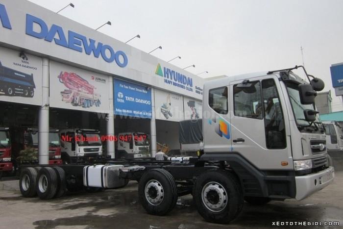 Bán xe Daewoo M9CEF 4 chân 19 tấn nhập khẩu nguyên chiếc, giá 2 tỷ 040 triệu