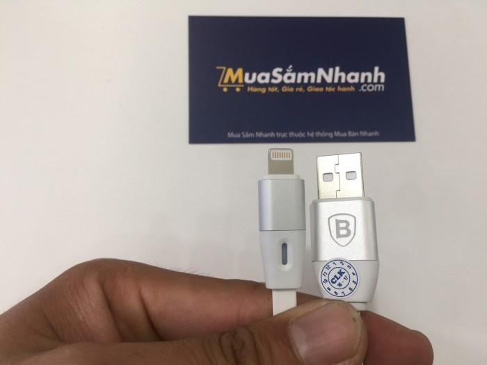 Cáp sạc BASEUS thông minh tự động ngắt cho iPhone 5/6/7,IPad 2.1A - MSN181075