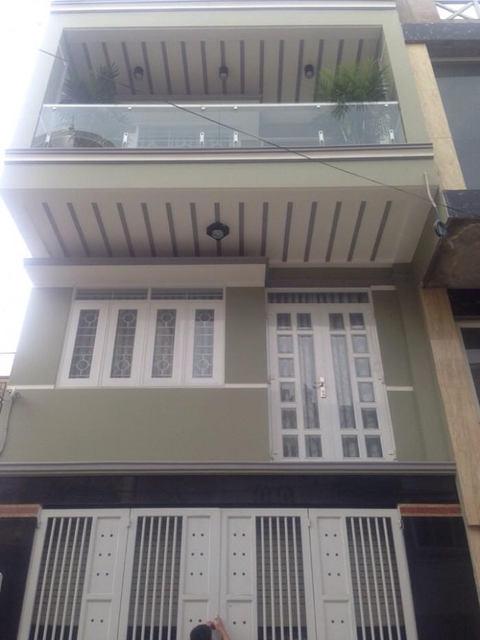 Nhà phố 3 tầng hiện đại, DT 5x16m, đường 10m, Phạm Hữu Lầu, Quận 7. Giá 4.85 tỷ