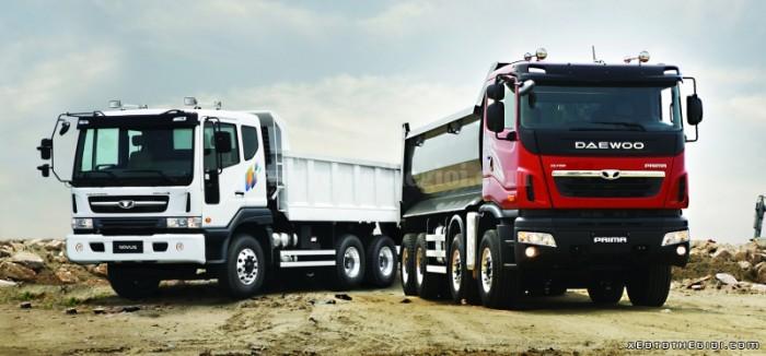 Đại lý độc quyền xe tải 4 chân Daewoo M9CEF 19 tấn, hỗ trợ trả góp lãi suất thấp
