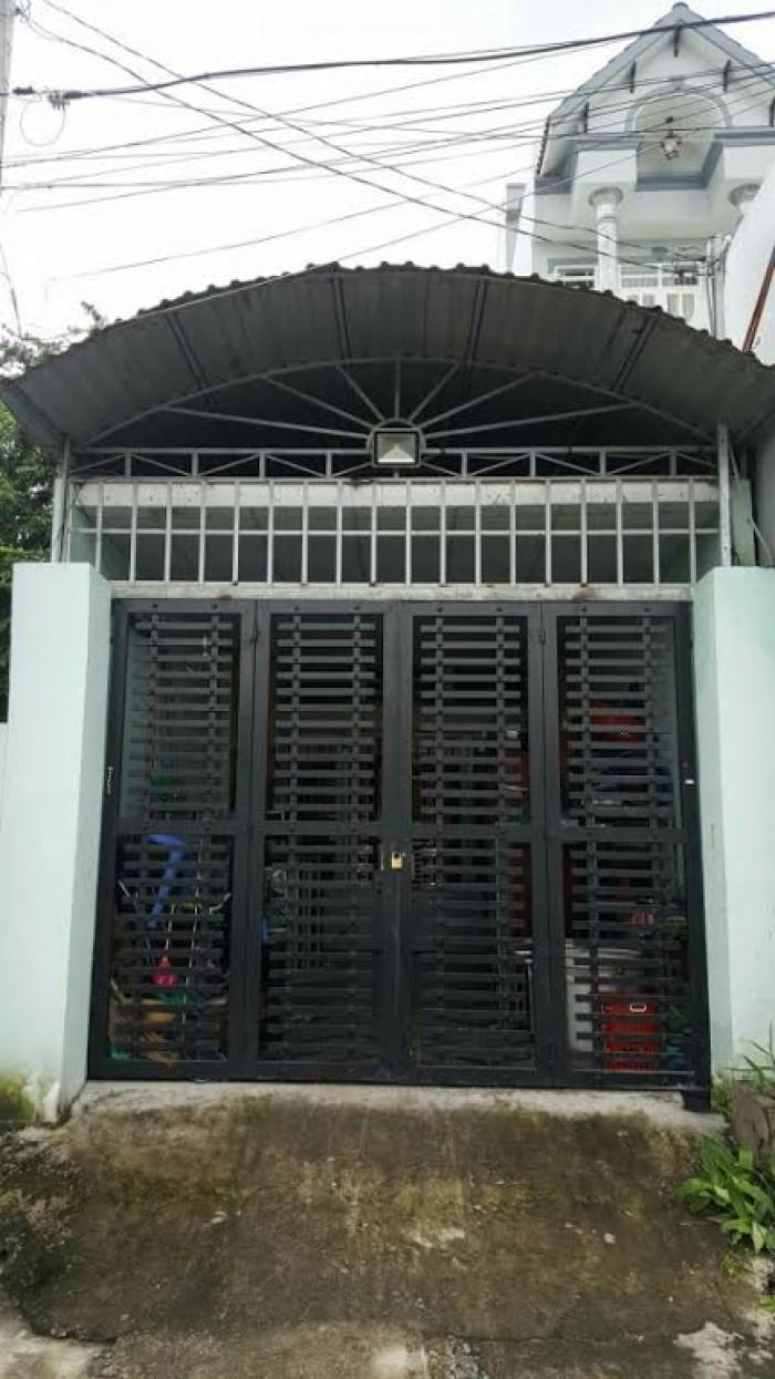 Bán nhà xe hơi đường Lê Văn Khương, P. Thới An, Q.12, DT: 4mx28m