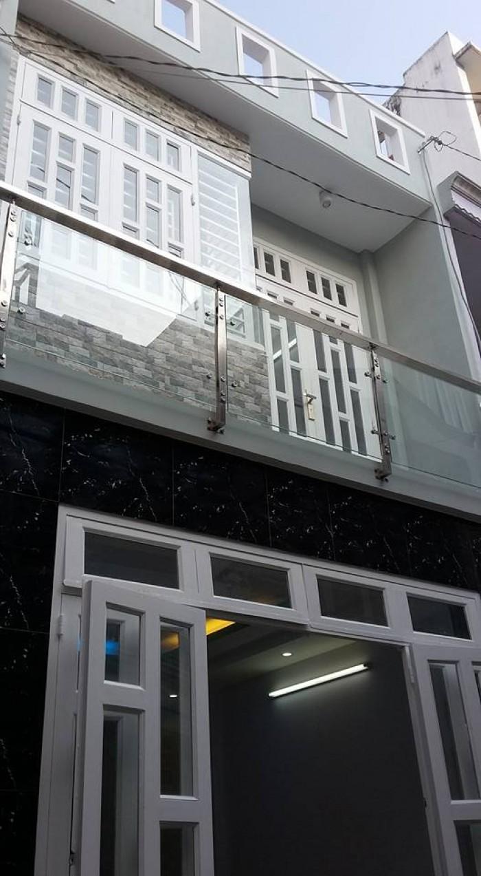 Nhà đường Bùi Quang Là, p12 Gò Vấp, dt 4 x 7 đúc 1 trệt 1 lầu,giá 1.2 tỷ