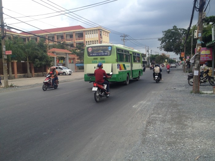 Bán 903m2 mặt tiền đường Tân Liễu xã Hưng Long Bình Chánh