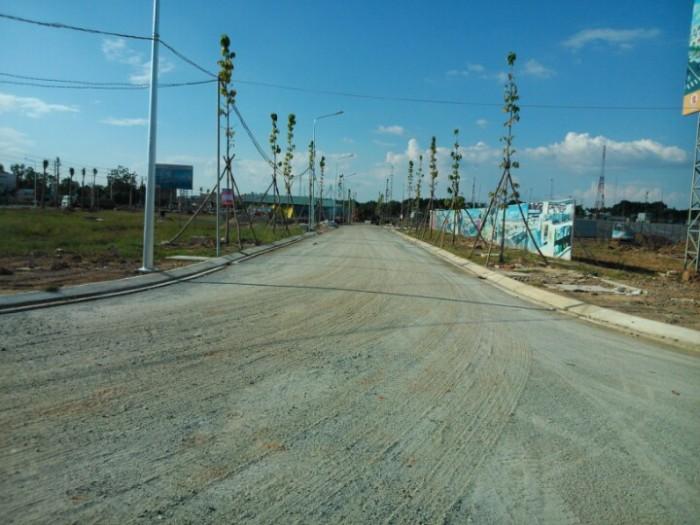 Cần bán lô đất đối diện chợ Đại Phước 530 triệu/nền bao sổ chính chủ, cách phà 3km
