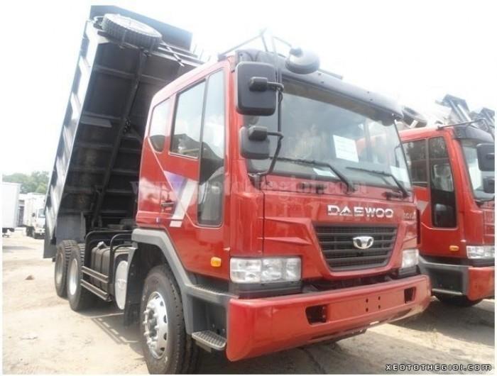 Bán xe tải Daewoo 21 tấn P9CVF nhập khẩu chính hãng, giá 2 tỷ 400 triệu