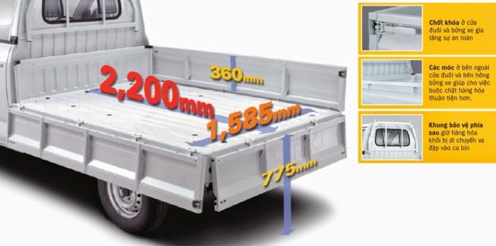 Suzuki Pro kích thướt thùng