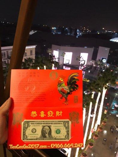 1 USD Đinh Dậu 2017, Serial Tứ Quý 8888, Bộ Tài chính Mỹ phát hành1