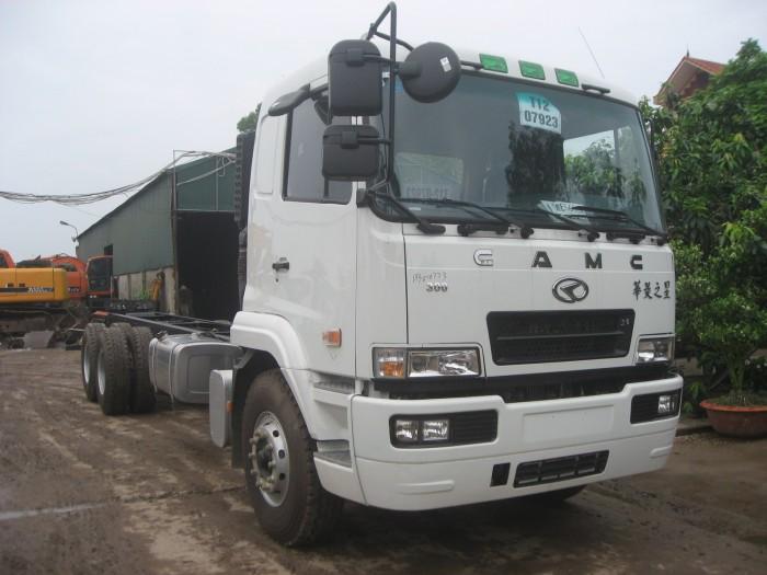 Bán Xe tải CAMC 3 chân 14.9 tấn/ 14t9 sử dụng động cơ Hino Uy tín Sài Gòn 0
