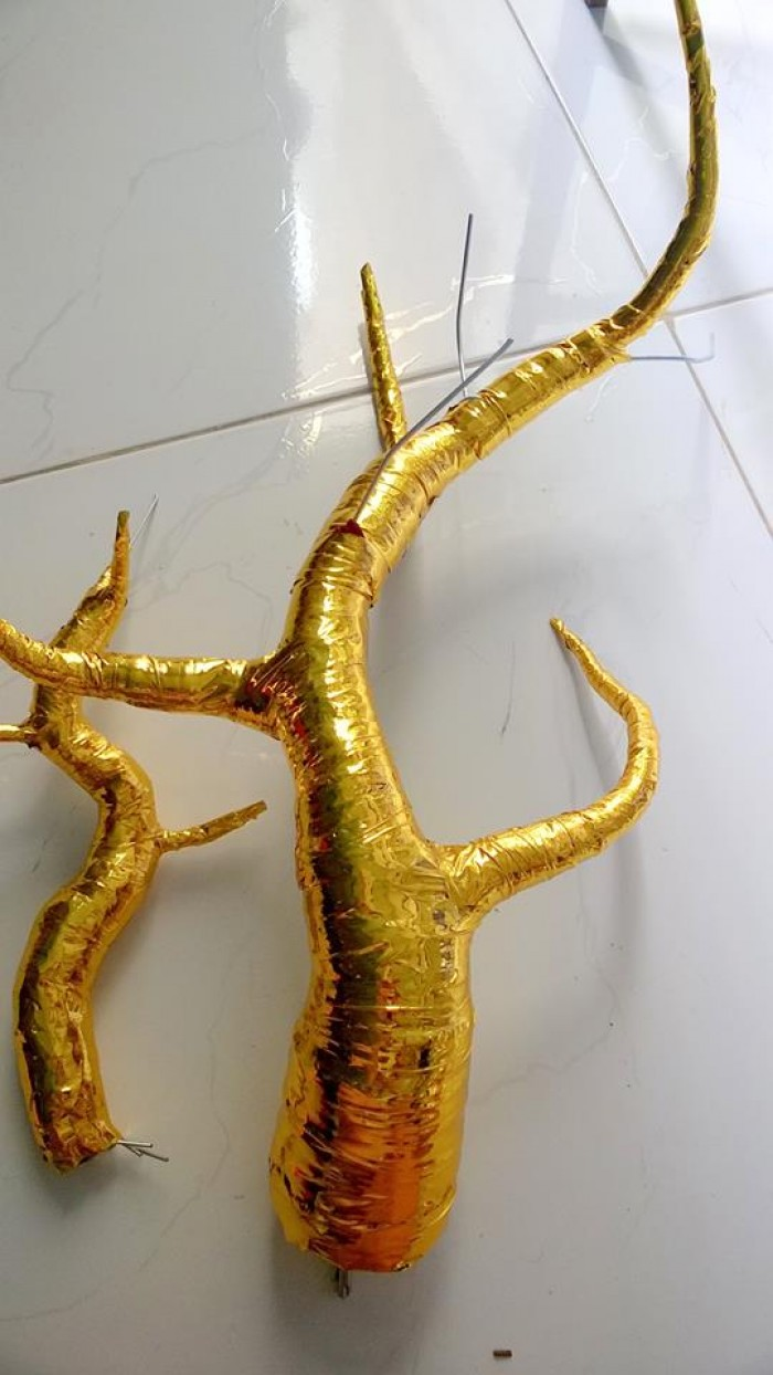 Nguyên liệu làm cây cành vàng lá ngọc3