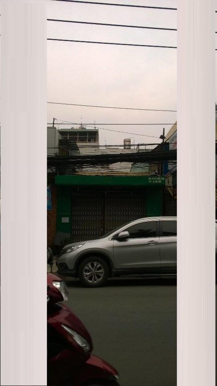 Bán gấp nhà MT Quang Trung, P.10, GV. DT 4,2x20m
