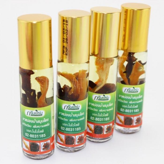 Dầu lăn thảo dược Green Herb Oil