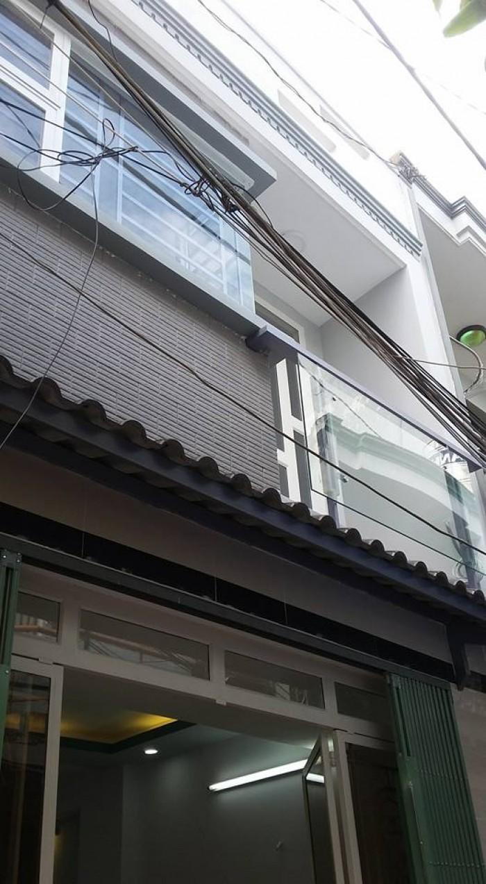 Nhà bán số 1306/ 14 /16 đường Quang trung ,p14 ,Gò Vấp, dt:4 x 9 đúc 1 trệt 1 lầu ,giá 1.68 tỷ