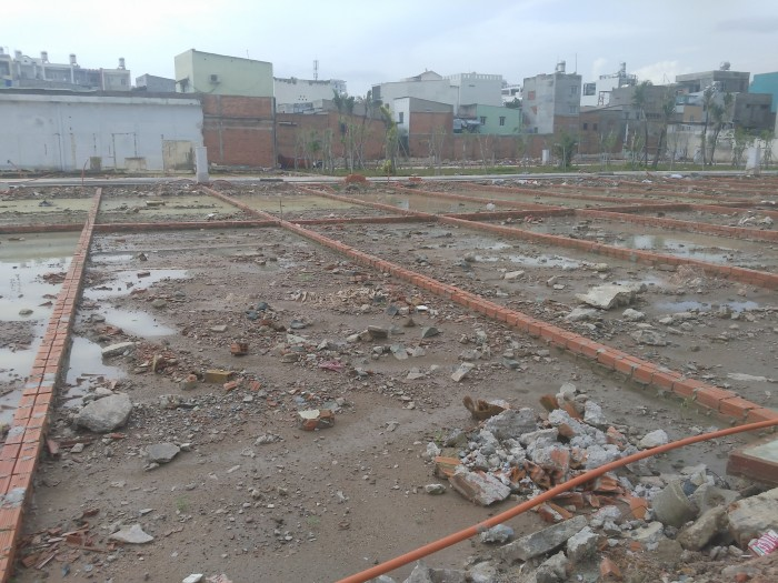 Bán 5 lô đất liền kề dt:4x16m2, đường Nguyễn Thái Sơn, Q.Gò Vấp giá hấp dẫn cho nhà đầu tư.