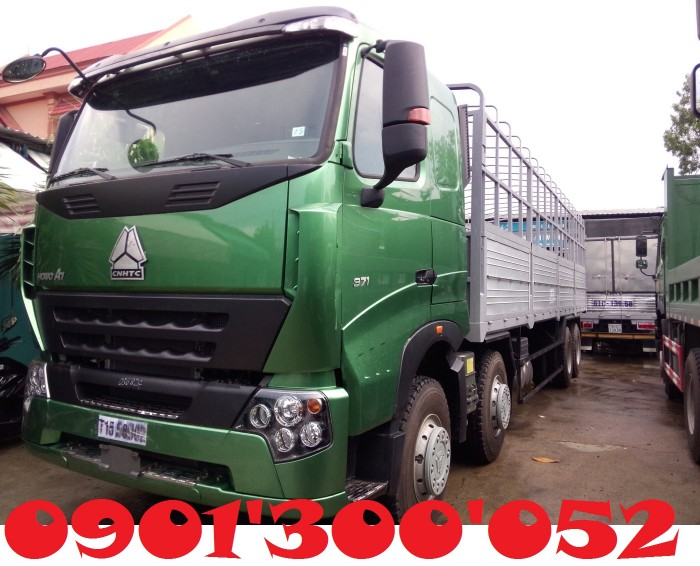 Đại lý xe tải Howo uy tín: Bán xe tải Howo A7 4 chân 17.9 tấn 371HP
