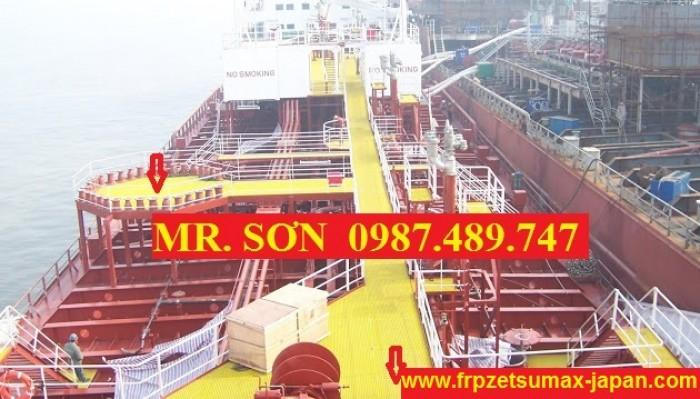 sàn lót chống trượt trên tàu