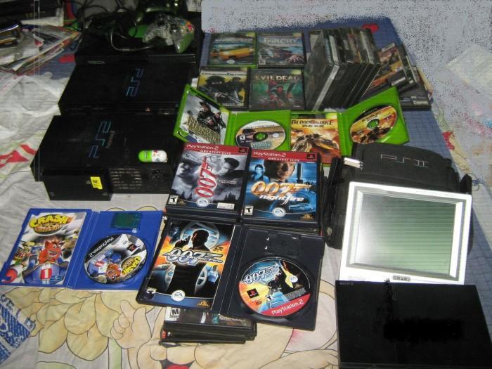 MÁY PS2 Ổ CỨNG CÁC LOẠI TỪ 80G ĐẾN 500G11