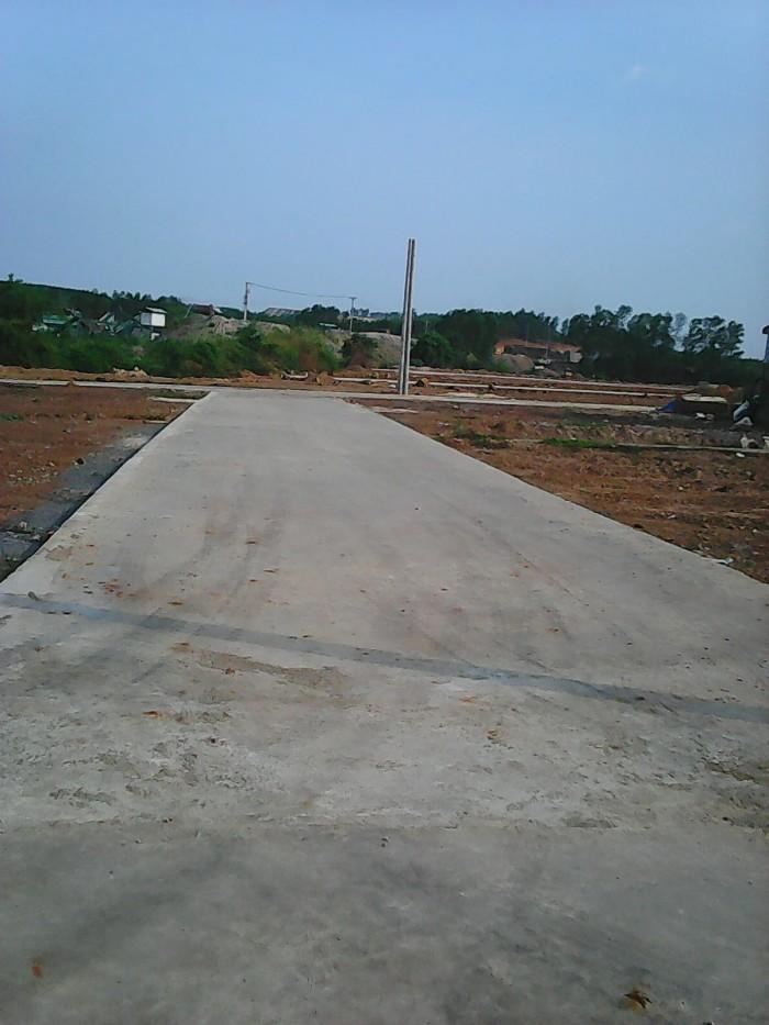 Đất nền thổ cư Tái định cư Phước Tân, sổ hồng. Giá 185 triệu/nền.