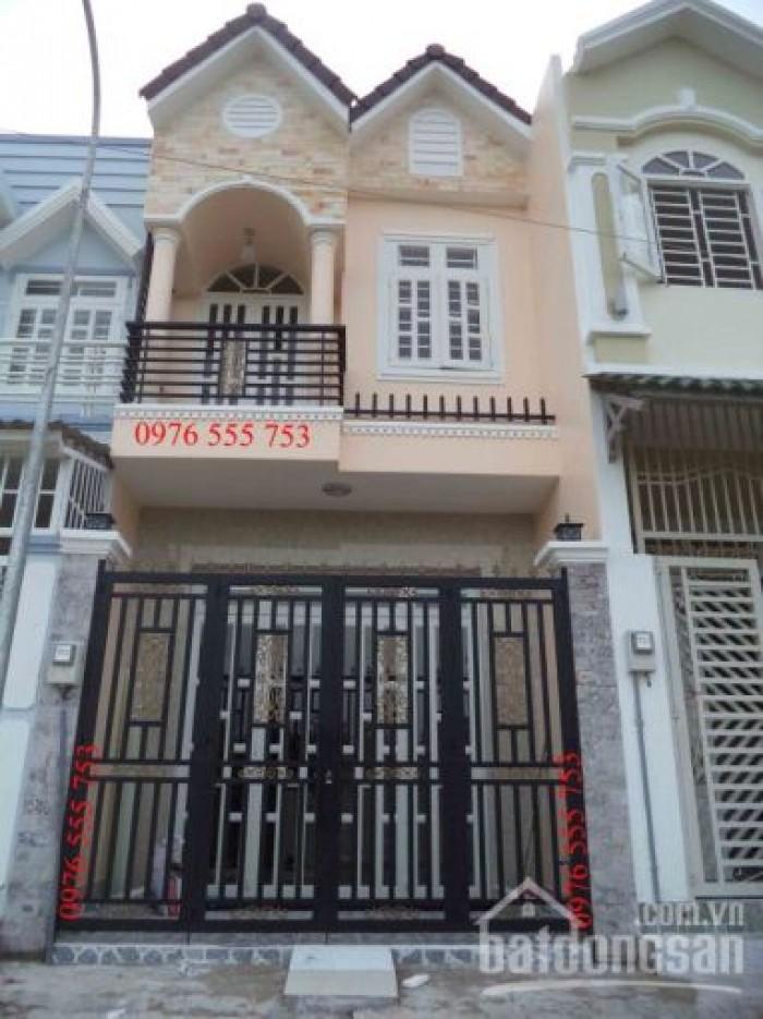 Bán nhà riêng 1 lầu, DT 4m x 14m, hẻm 382/57/Kp7 Huỳnh Tấn Phát, TT Nhà Bè, giá 1.46 tỷ