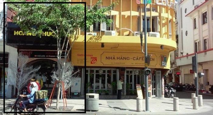 38 Đồng Khởi P.Bến Nghé Q.1, nhà đẹp mặt tiền trung tâm Tp HCM, cho kinh doanh mọi ngành nghề