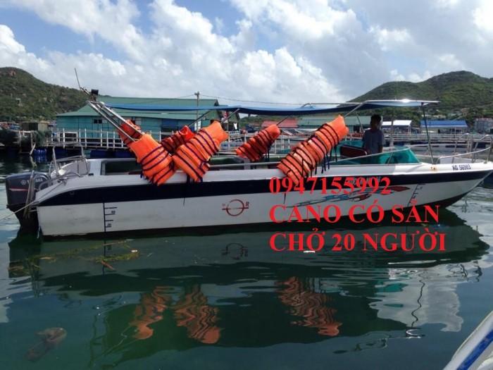 Chuyên cano và thuyền có sẵn đóng mới toàn quốc0