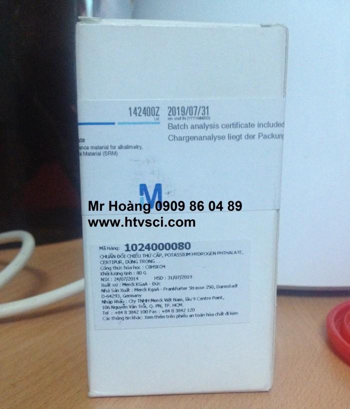 Potassium hydrogen phthalate standard, Merck 102400