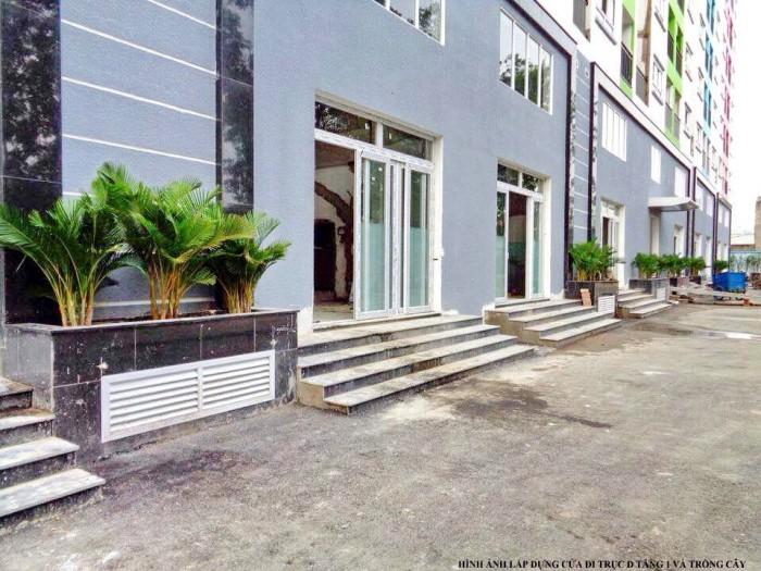 Kiot kinh doanh chung cư Thọ Nam Sang, 1trệt 1lửng 123m2, giá 2.3 tỷ/căn