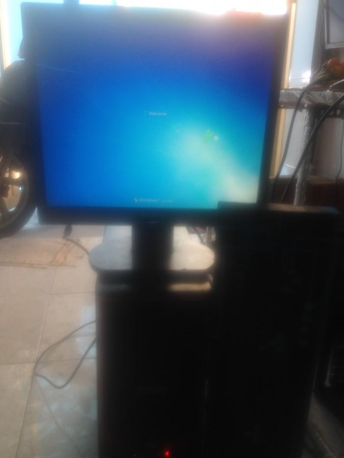 Case máy tính g41 ram 2 gb card rời 1 gb + LCD 17 ich3
