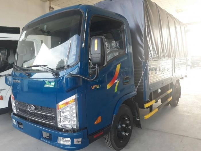 Xe tải Veam VT255 thùng kín trả góp lãi suất thấp