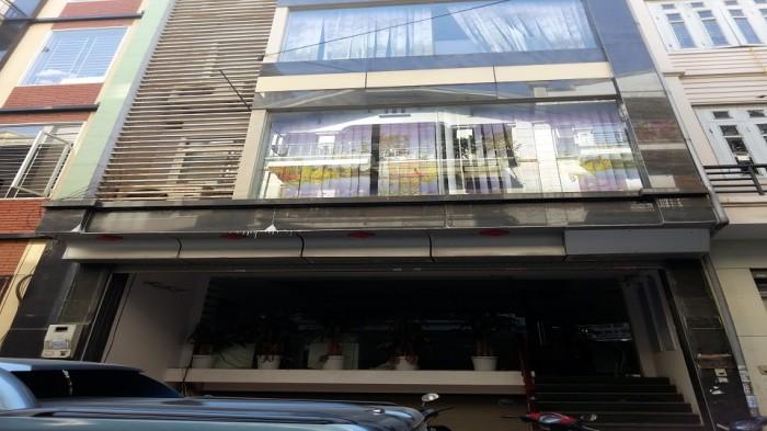 Bán tòa nhà mặt phố Nguyễn Văn Tố diện tích 130m2x 8 tầng, mt 4m giá 37.8 tỷ.