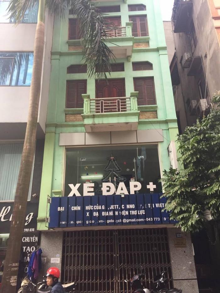 Nhà mặt phố Trần Đăng Ninh, MT 4,5m tiện kinh doanh, hiện đang làm cửa hàng