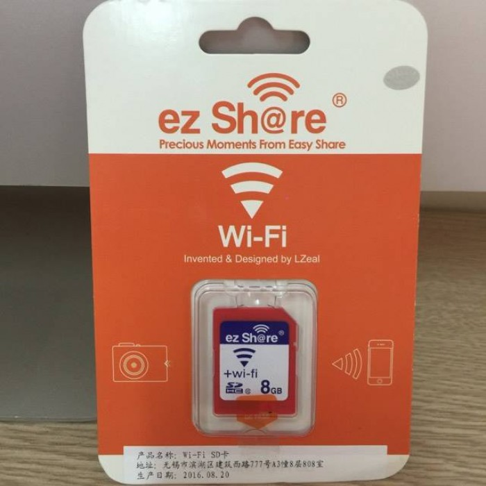 SD ez Share Wifi+ SDHC 80