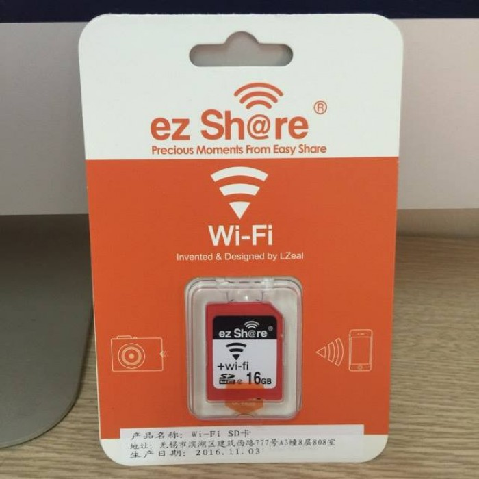 SD ez Share Wifi+ SDHC 161