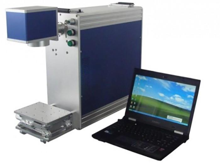 Máy laser fiber khắc điện thoại, trang sức, logo kim loại0