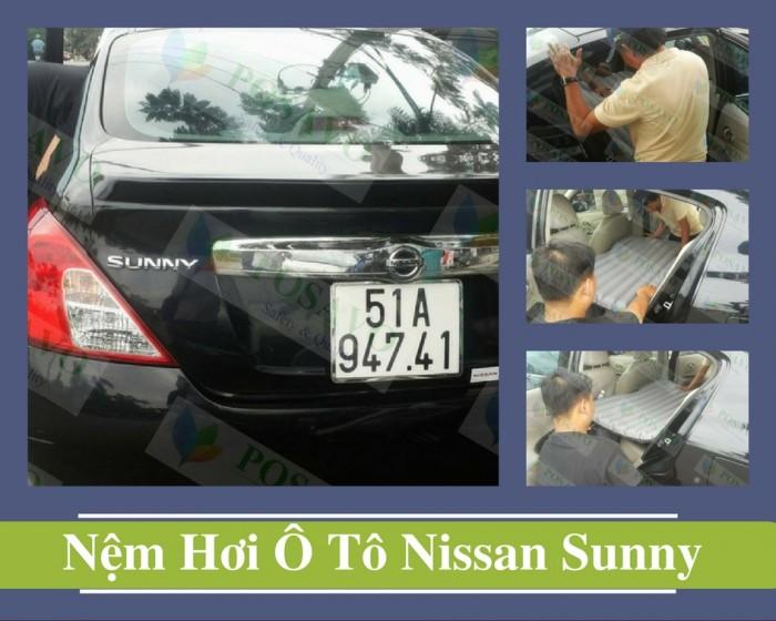 Hoạt động posavo lắp đặt đệm hơi ô tô xe nissan sunny