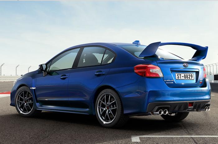 Xe Subaru WRX STI 2017 dòng xe Sport Sedan 4 chỗ, máy xăng, số tự động