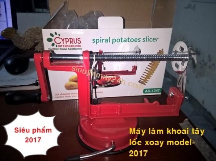 dụng cụ làm khoai tây lốc xoáy