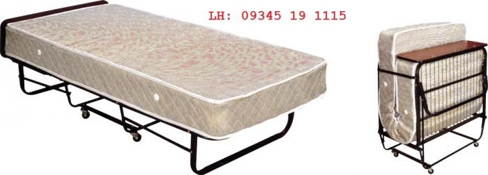 Giường Extra Bed hay còn gọi là giường xếp hoặc giường gấp di động , chuyên dùng cho khách sạn, văn phòng0
