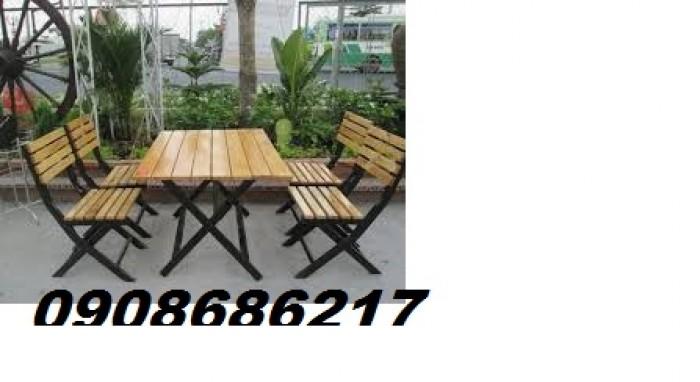 Bộ ghế gỗ giá rẻ1