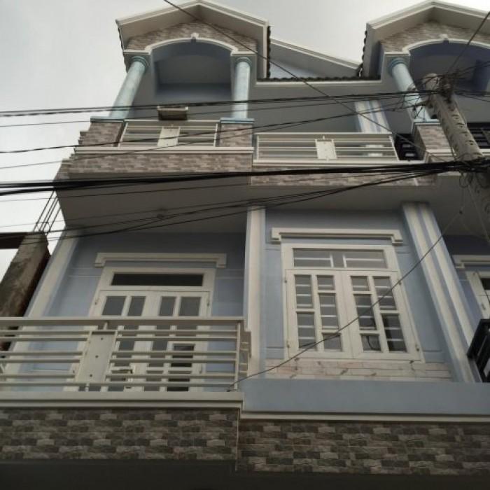 Bán nhà 2 lầu, 4 phòng ngủ, DT 4x12m, giá 1.89 tỷ, tại Huỳnh Tấn Phát, Nhà Bè