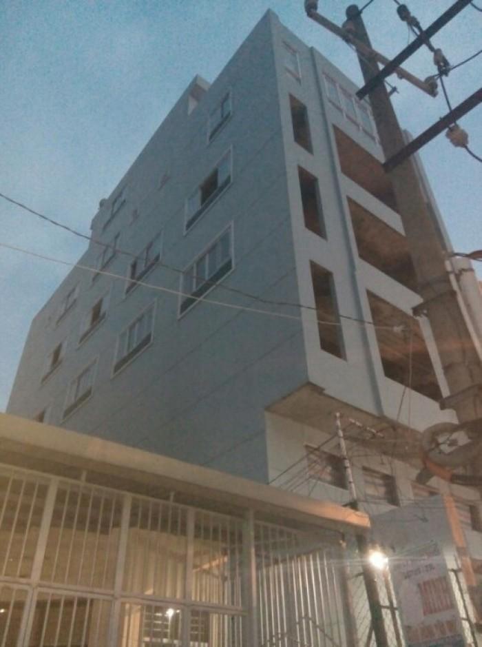 Nhà mặt tiền quận 8 diện tích 8x25 Cao Xuân Dục,5 tầng lầu phường 12 q8