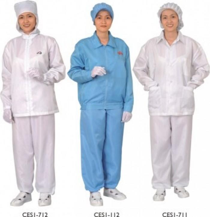 Kết quả hình ảnh cho Quần áo phòng sạch, quần áo chống tĩnh điện