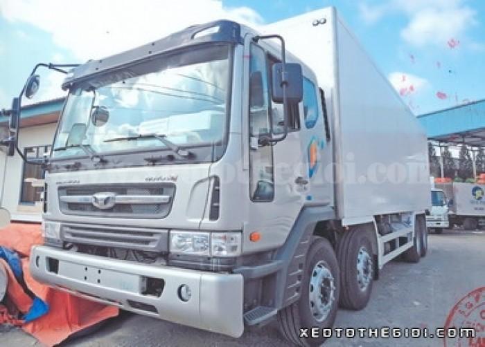 Bán Xe Daewoo Cargo M9CEF đông lạnh 19 tấn, Nhập khẩu 2016! TẶNG đóng thùng