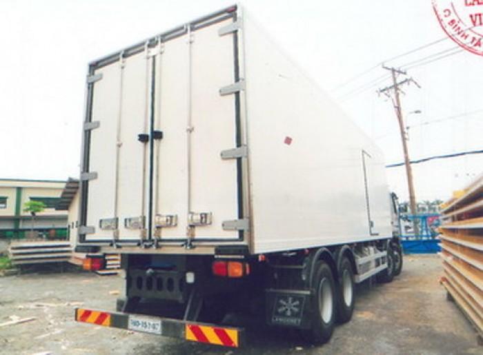Bán xe đông lạnh Daewoo Cargo M9CEF 19 tấn, giá rẻ cạnh tranh